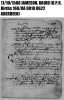 Dauid Jamesone O.P.R. Birth Record